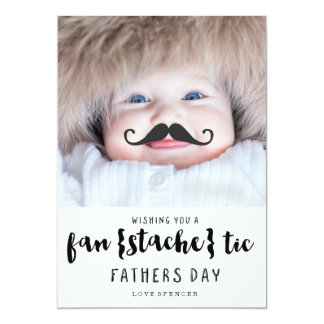 FANTASTIC MUSTACHE | FATHERS DAY CARD