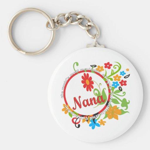 Fantastic Nana Keychains