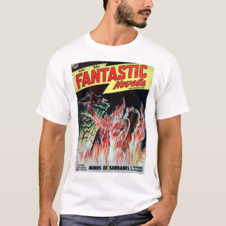 Fantastic Novels v03 n04 (1949-11.Popular)_Pulp Ar T-Shirt