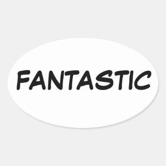 fANTASTIC Oval Sticker