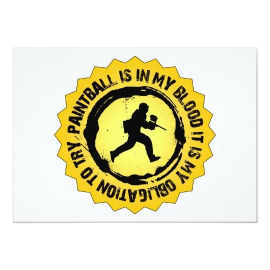 Fantastic Paintball Seal Card