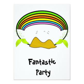 fantastic party invitation 17 cm x 22 cm invitation card