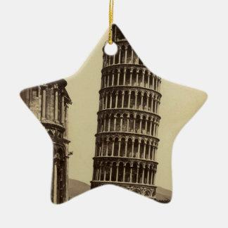 Fantastic photo of Pisa tower in 1860! Ornament