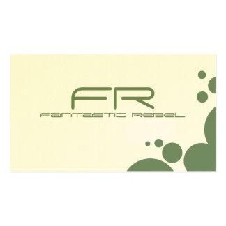 Fantastic Rebel Business Cards