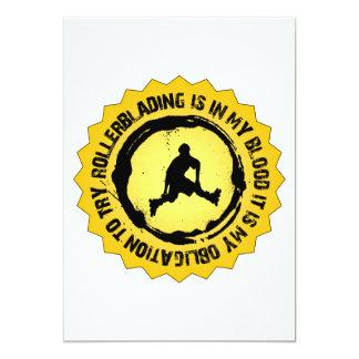 Fantastic Rollerblading Seal Card