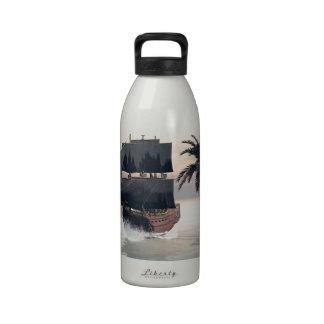 Fantastic seascape water bottle