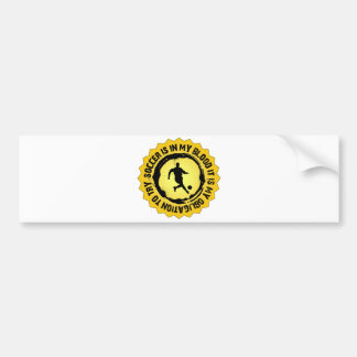Fantastic Soccer Seal Bumper Sticker