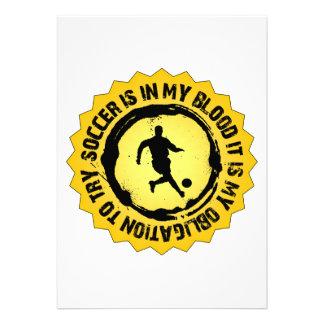 Fantastic Soccer Seal Custom Invites