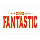 Fantastic Star Tag Post Card