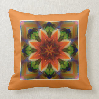 Fantastic Star  with a border Throw Pillow