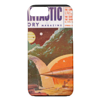 Fantastic Story v07 n01 (1954-Sp.Best Books)_Pulp iPhone 8/7 Case
