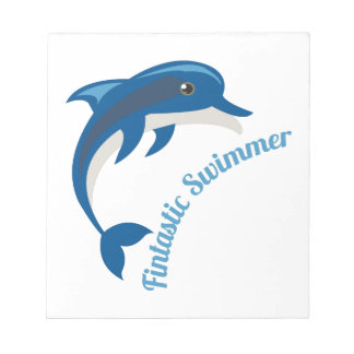 Fantastic Swimmer Note Pad