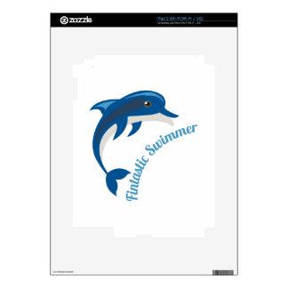 Fantastic Swimmer iPad 2 Skins