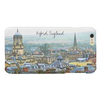 Fantastic, Timeless Oxford, England, Roof Top View Matte iPhone 6 Plus Case