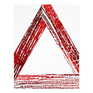Fantastic triangle letterhead