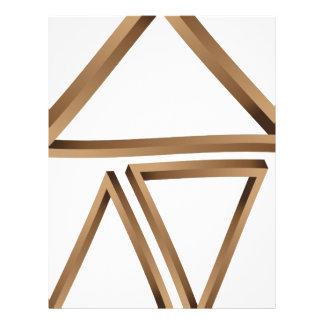 Fantastic triangles 3 letterhead
