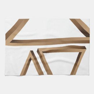 Fantastic triangles 3 towel