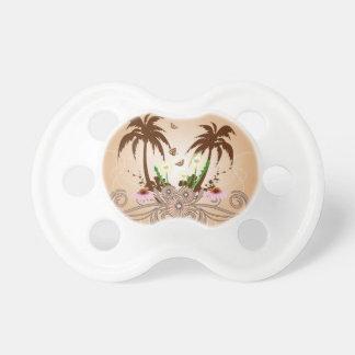 Fantastic tropical design BooginHead pacifier