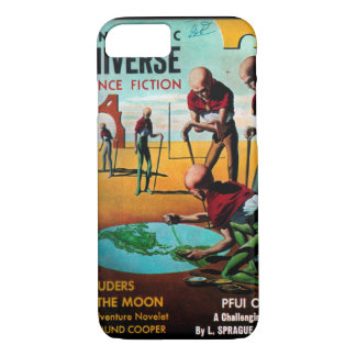 Fantastic Universe - 1957-4_Pulp Art iPhone 8/7 Case