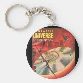 Fantastic Universe v07 n02 (1957-02.King-Size)_Pul Basic Round Button Keychain