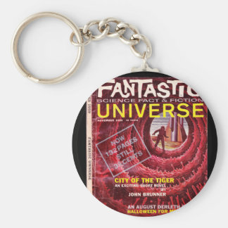 Fantastic Universe v12 n01 (1959-11.Great American Basic Round Button Keychain