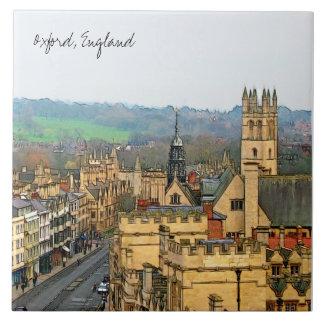 Fantastic View, Oxford, England, High Street #1 Ceramic Tile
