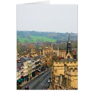Fantastic View, Oxford, England, High Street #2 Card