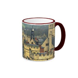 Fantastic View, Oxford, England, High Street #3 Ringer Coffee Mug