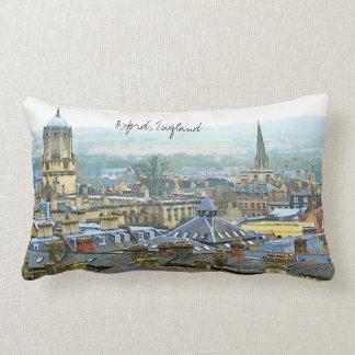 Fantastic View, Oxford, England, Roof Top #1 Lumbar Pillow