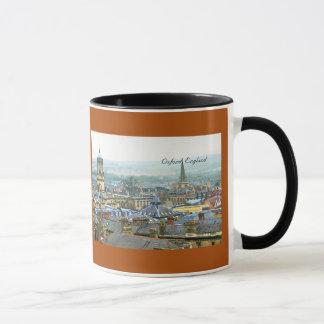 Fantastic View, Oxford, England, Roof Top #4 Mug