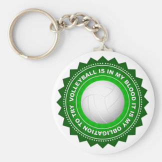Fantastic Volleyball Shield 2 Keychain