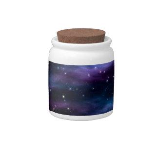Fantastic Voyage Space Nebula Candy Jars