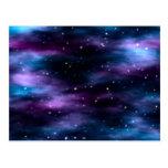 Fantastic Voyage Space Nebula Postcard