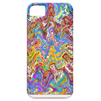Fantastic Waves Colorful Abstract Art iPhone SE/5/5s Case
