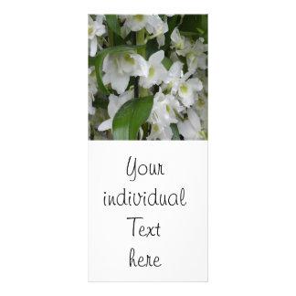 Fantastic white blossoms rack card