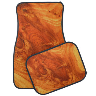 fantastic wood grain car mat