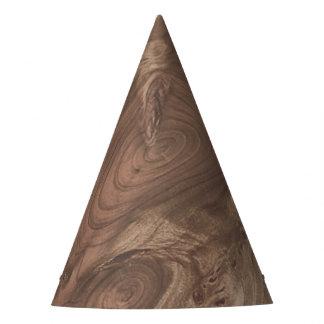 fantastic wood grain soft party hat
