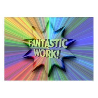 Fantastic Work ACEO Trading Card Large Business Cards (Pack Of 100)