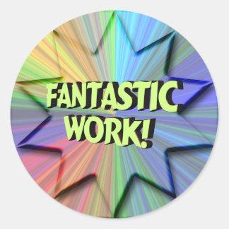 Fantastic Work Sticker