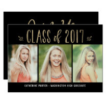 Fantastic Year EDITABLE COLOR Graduation Invite