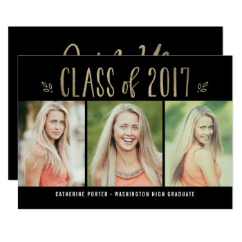 Fantastic Year Editable Color Graduation Invite by berryberrysweet at Zazzle