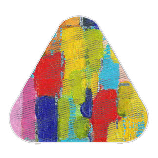 Fantastical Abstract Painting by Kris Taylor Bluetooth Speaker