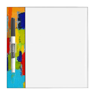 Fantastical Abstract Painting by Kris Taylor Dry Erase Board
