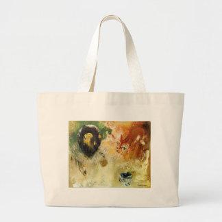Fantastical by Odilon Redon Jumbo Tote Bag