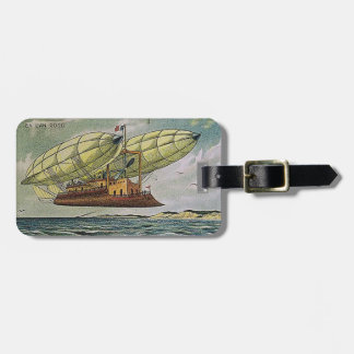 Fantastical Flying Machine from France, Bag Tag