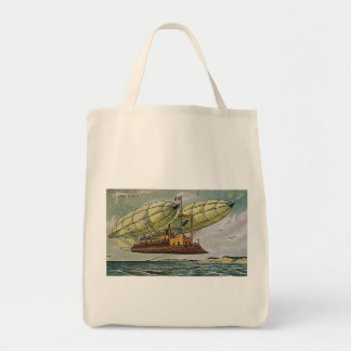 Fantastical Flying Machine from France, Tote Bag