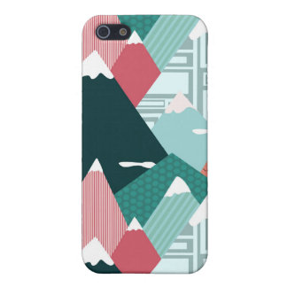 Fantastical Mountains Cover For iPhone SE/5/5s