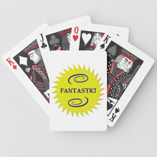Fantástico Baraja Cartas De Poker