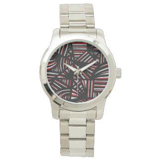 Fantástico brillante esencial diligente relojes de mano