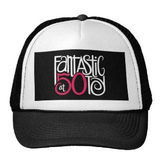 Fantástico en el gorra de 50 blancos